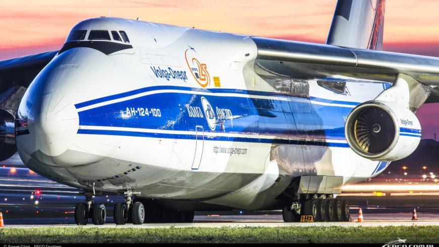 AN-124 PONOWNIE W GDAŃSKU