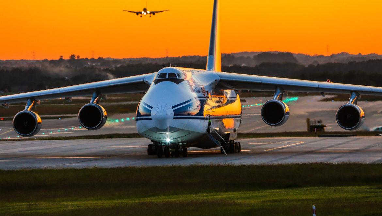 ANTONOV AN-124 RUSŁAN W GDAŃSKU!