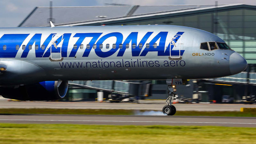 WIZYTA NATIONAL AIRLINES NA EPGD