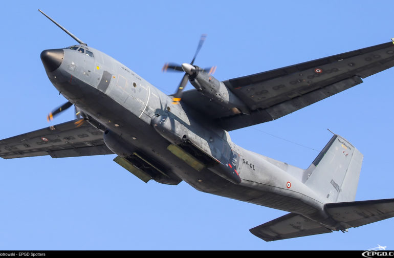 TRANSALL C-160R FRANCE AIR FORCE W GDAŃSKU