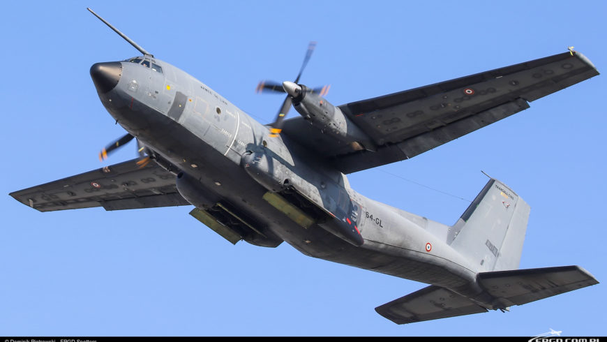 TRANSALL C-160R FRANCE AIR FORCE W GDAŃSKU