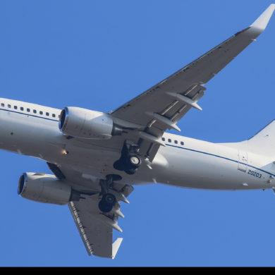 BOEING C-40B U.S. AIR FORCE W GDAŃSKU