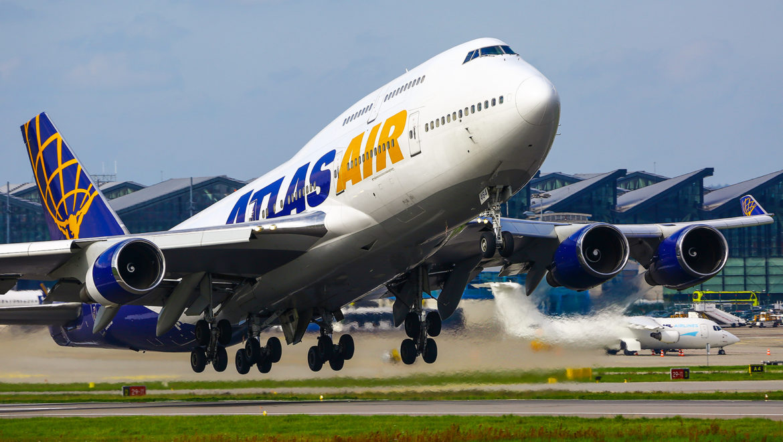 BOEING 747 ATLAS AIR ODWIEDZA EPGD