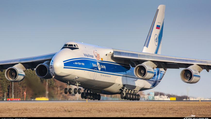 KOLEJNA WIZYTA ANTONOVA AN-124 W GDAŃSKU!