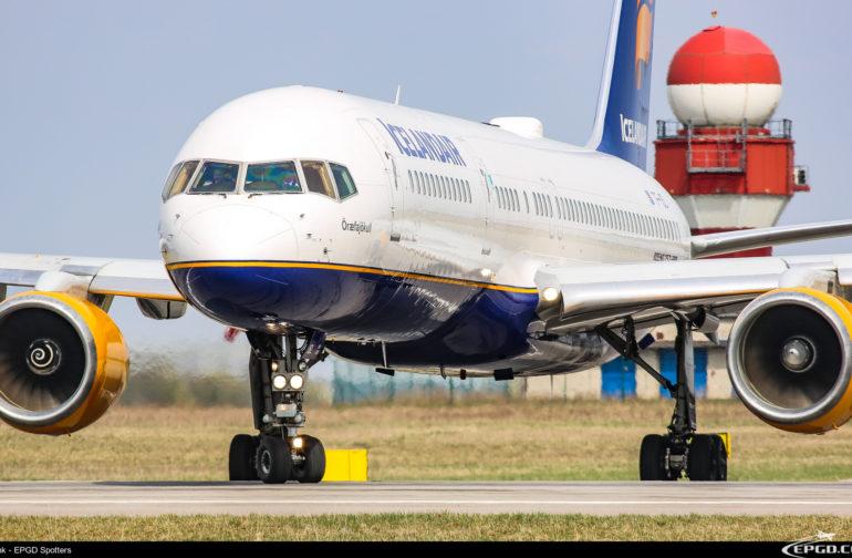 WIZYTA BOEINGÓW 757 ICELANDAIR