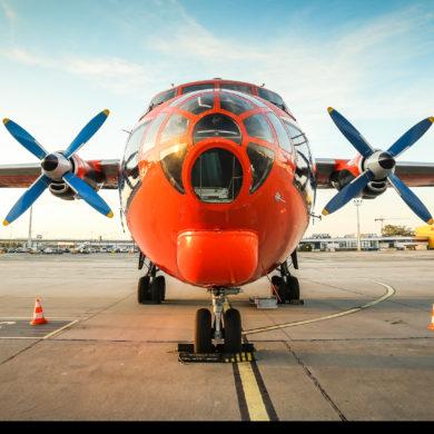Antonov An-12 w Gdańsku