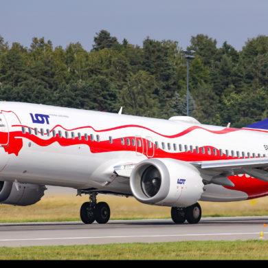 Pierwsza wizyta Boeinga 737 MAX w Gdańsku