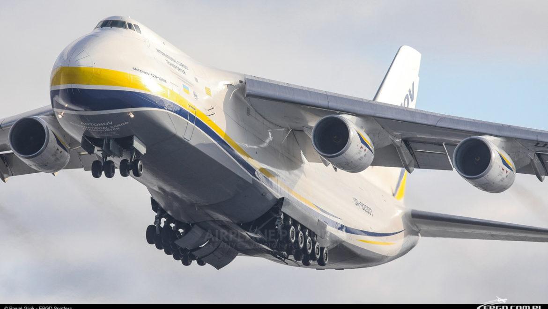 Antonov An-124 Rusłan po raz kolejny w Gdańsku