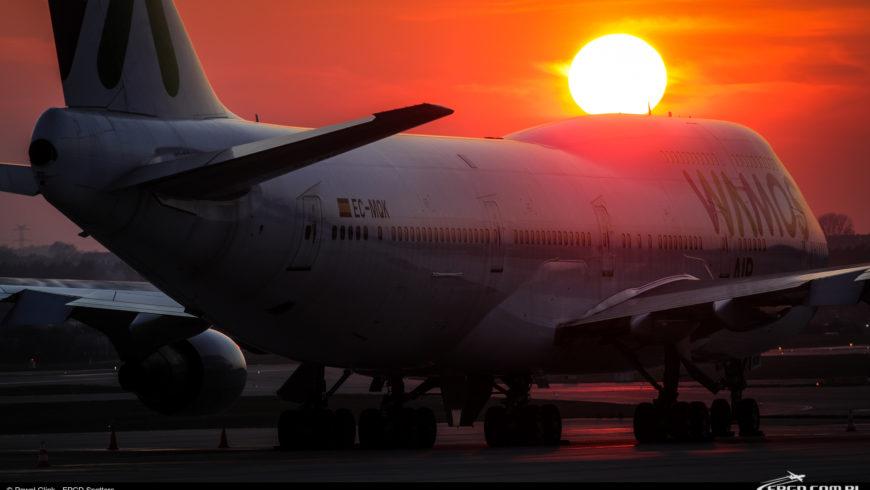 Boeing 747 Wamos Air ponownie w Gdańsku